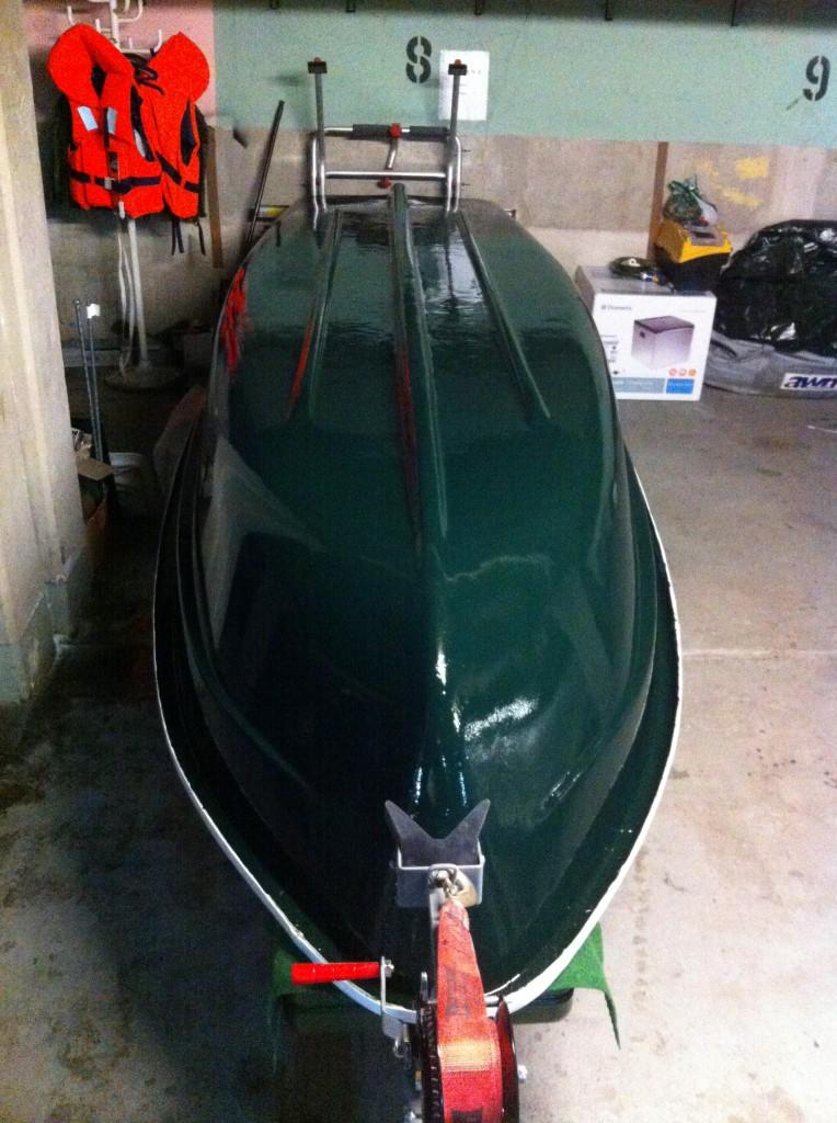 Wallerboot Anka Thames Green
