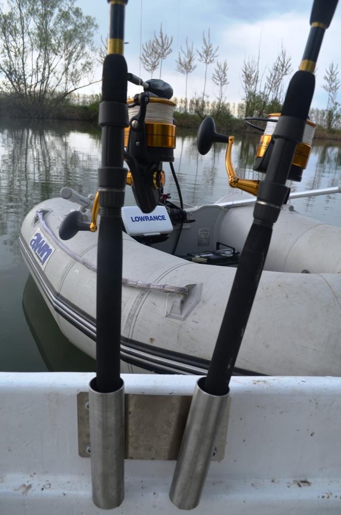 Wallerboot Anka Rutenhalter